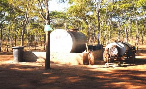 Drill Site Fuel Storage